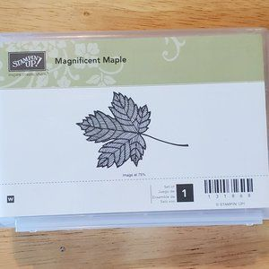 Stampin' Up! Magnificent Maple Stamp